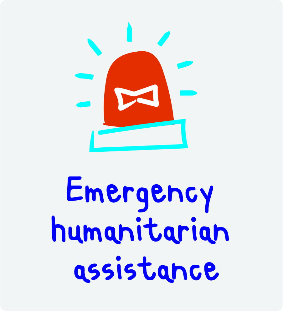 Emergency humanitarian assistance