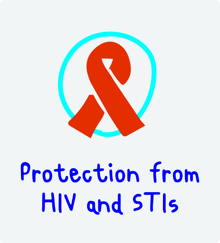 Protection from HIV and STIs