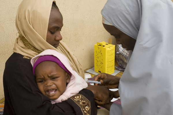 Measles outbreak kills 13 children in Nigeria