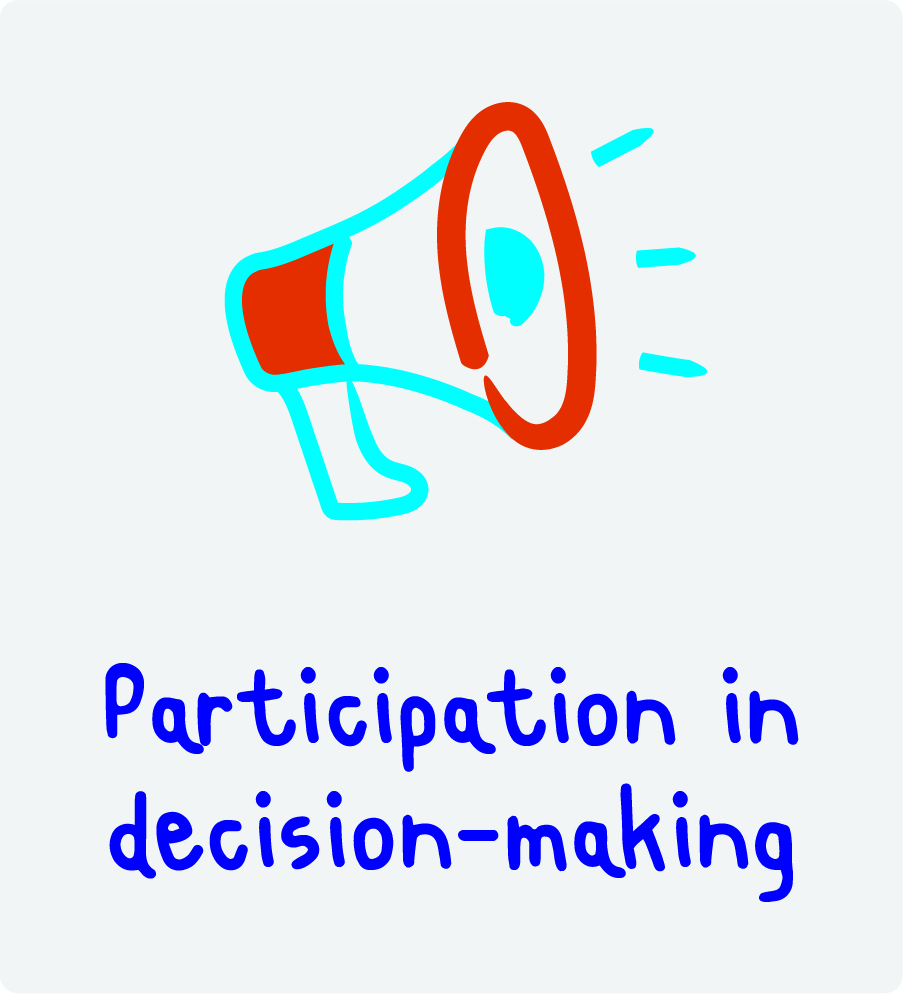 Participation in decision-making